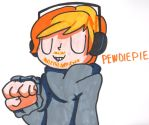 Pewdiepie by YouCanDrawIt