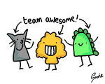 team awesome by snorasaurus