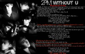 2PM Without U by ForeverxShiva