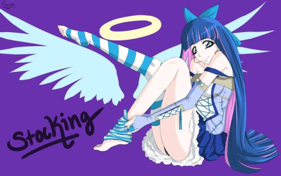 Stocking Wallpaper Finished by Rah-Chan