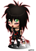 Bloody Nikki - Chibi by SavanasArt