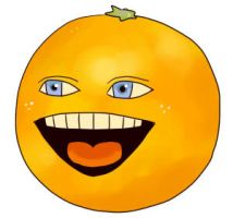 Annoying Orange by mukuuji