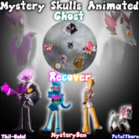 Mystery Skulls Animated: Ghost: Recover by Petalthorn