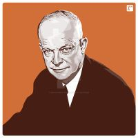 Eisenhower by monsteroftheid