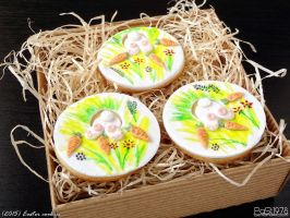 Easter cookies by PaSt1978