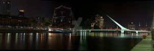 Pano Madero by Night by tgrq