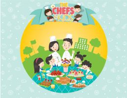 Chef and Kids by cecilliahidayat