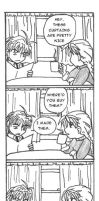 Roomies: Sanzo and Duo 02 by rurounigochan