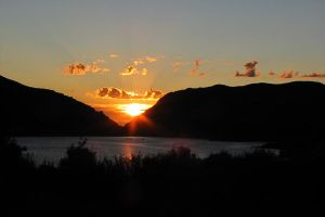 Lake Morena Sunset by chell265