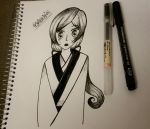 Lady Nanami (Inktober 2015) by Sailor-Aria