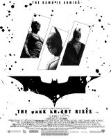 Dark Knight Rises 2nd Poster by DGsWay