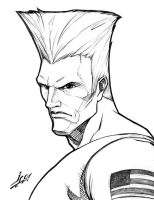 Guile by Jose Carlos by StudioGoetia