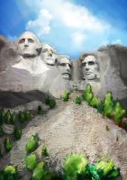 Mount Rushmore by Katephos