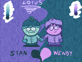 Stan x Wendy by LotusTheKat