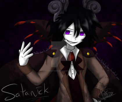 Pitch Black World Devil by Fernandathehedgehog