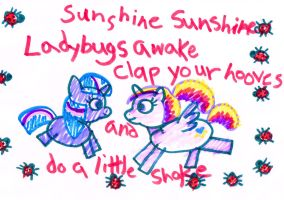 Sunshine, Sunshine ladybugs awake by allanah