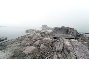 Fog over the Lake 2 by luethy