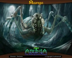 Moonga - Giant spider by moonga