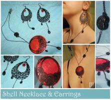 Snail Shell Set recycled by Arahiriel