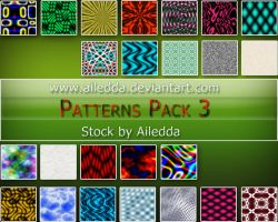 Patterns Pack 3 by Ailedda by Ailedda