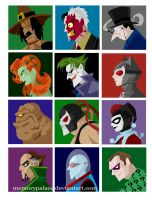 Villainous Profiles by memorypalace