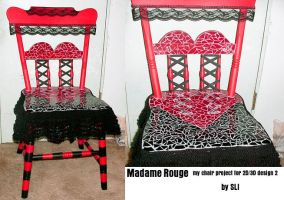 Madame Rouge by strangelittleimp