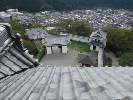 Gujo Hachiman Castle 9 by SHiNiGAMi-Xiii