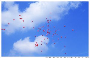 99 Red Balloons by thewakeofsaturday