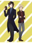 A-T : Sherlock and John by Esha-R