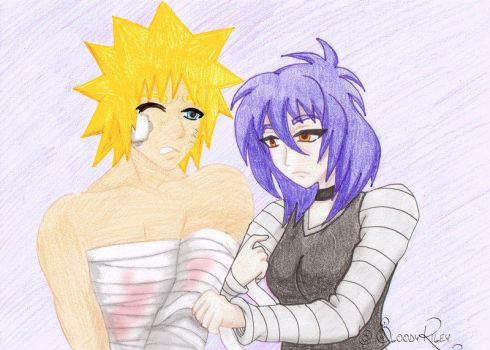 Naruto And Gaz! Done by Bloodyriley by TheRealKyuubi16