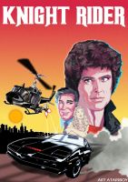 Knight Rider 2600 Label Final by Atariboy2600