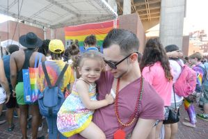 2015 Boston Pride Festival, Dancin With My Baby by Miss-Tbones