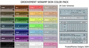 Groovement Color Pack by frostedflames