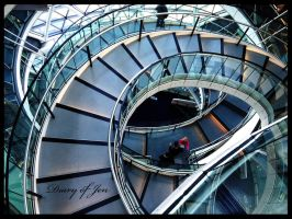 The spiral Staircase by DiaryofJen