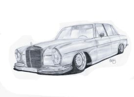 Mercedes W108 by MishoH