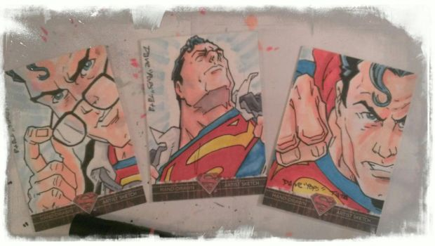 MAN OF STEEL colors finished by POPSTATA