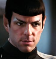 Spock by fenraven