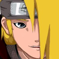 Colored: Smile deidara by Deidara-Sama-fan