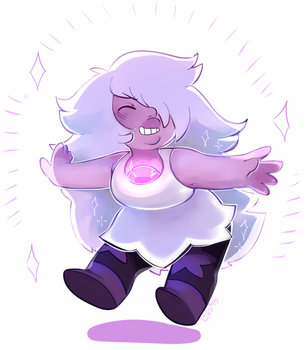 Amethyst (new outfit) by MagicalChan