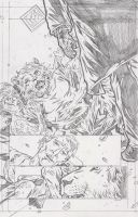 The Stars 2 Page 5 Pencils by KurtBelcher1