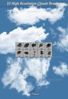 Clouds Brushes by GrDezign