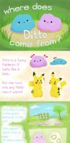 Where Does Ditto Come From?