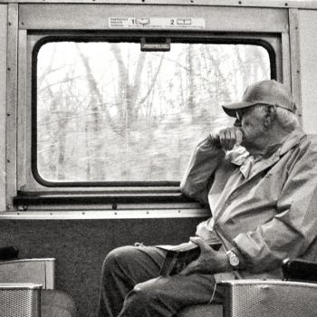 Thoughts on a Train by J-Urban-Hippie
