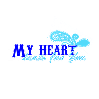 Texto png My heart beats for You by Ro-editions