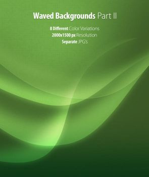 Waved Background Pack II by snmsnl