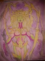 queen of blades color by daylover1313