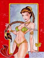 SLAVE PRINCESS LEIA by RODEL MARTIN (09082015) by rodelsm21