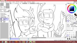 WIP - Lineart , Of Some Shitz Im Doing c: by Jean-Kirschstein