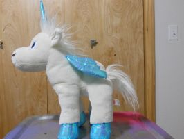My Sugarloaf Alicorn stuffed animal. by Flutterflyraptor