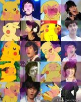 Kyuhyun and Pikachu by crystalSHINee4evr